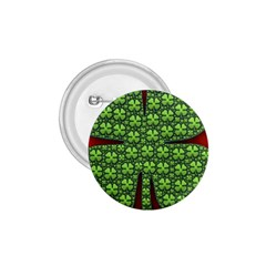 Shamrock Irish Ireland Clover Day 1 75  Buttons