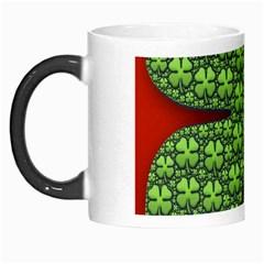 Shamrock Irish Ireland Clover Day Morph Mugs