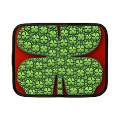 Shamrock Irish Ireland Clover Day Netbook Case (small)