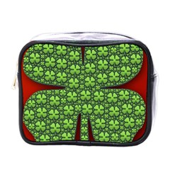 Shamrock Irish Ireland Clover Day Mini Toiletries Bags