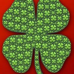 Shamrock Irish Ireland Clover Day Magic Photo Cubes