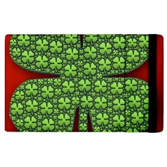 Shamrock Irish Ireland Clover Day Apple iPad 3/4 Flip Case