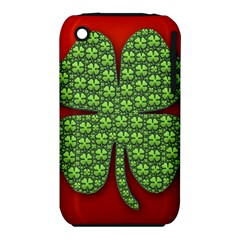 Shamrock Irish Ireland Clover Day iPhone 3S/3GS