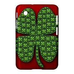 Shamrock Irish Ireland Clover Day Samsung Galaxy Tab 2 (7 ) P3100 Hardshell Case