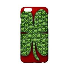Shamrock Irish Ireland Clover Day Apple iPhone 6/6S Hardshell Case