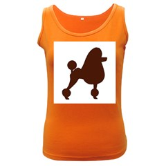 Poodle Brown Silo Women s Dark Tank Top