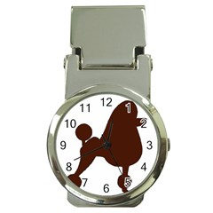 Poodle Brown Silo Money Clip Watches