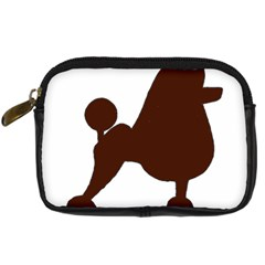 Poodle Brown Silo Digital Camera Cases