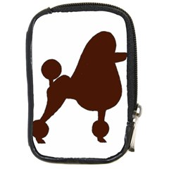 Poodle Brown Silo Compact Camera Cases
