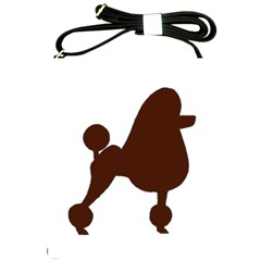 Poodle Brown Silo Shoulder Sling Bags