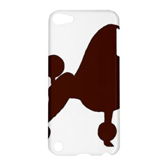 Poodle Brown Silo Apple iPod Touch 5 Hardshell Case