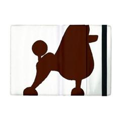 Poodle Brown Silo Apple iPad Mini Flip Case