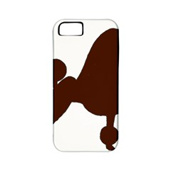Poodle Brown Silo Apple iPhone 5 Classic Hardshell Case (PC+Silicone)