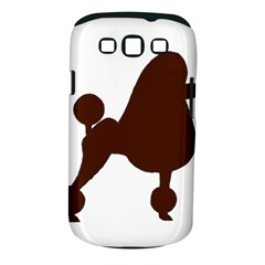 Poodle Brown Silo Samsung Galaxy S III Classic Hardshell Case (PC+Silicone)