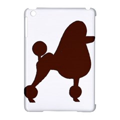 Poodle Brown Silo Apple iPad Mini Hardshell Case (Compatible with Smart Cover)