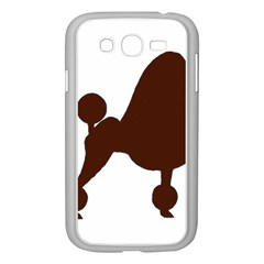Poodle Brown Silo Samsung Galaxy Grand DUOS I9082 Case (White)