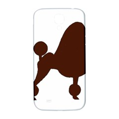 Poodle Brown Silo Samsung Galaxy S4 I9500/I9505  Hardshell Back Case