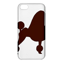 Poodle Brown Silo Apple iPhone 5C Hardshell Case