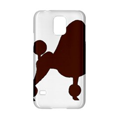 Poodle Brown Silo Samsung Galaxy S5 Hardshell Case