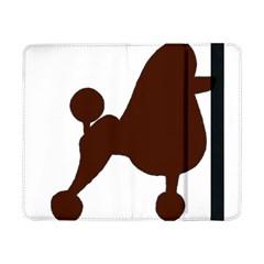 Poodle Brown Silo Samsung Galaxy Tab Pro 8.4  Flip Case