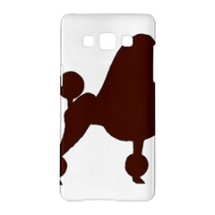 Poodle Brown Silo Samsung Galaxy A5 Hardshell Case