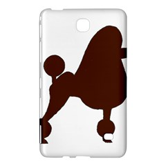 Poodle Brown Silo Samsung Galaxy Tab 4 (7 ) Hardshell Case