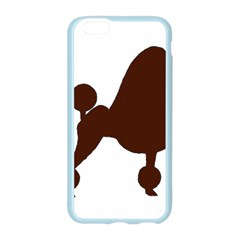 Poodle Brown Silo Apple Seamless iPhone 6/6S Case (Color)