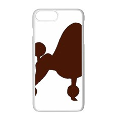 Poodle Brown Silo Apple iPhone 7 Plus White Seamless Case