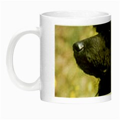 Poodle Love W Pic Black Night Luminous Mugs