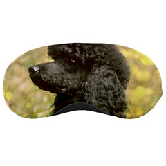 Poodle Love W Pic Black Sleeping Masks