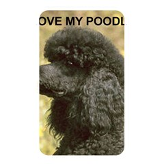 Poodle Love W Pic Black Memory Card Reader