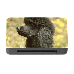 Poodle Love W Pic Black Memory Card Reader with CF