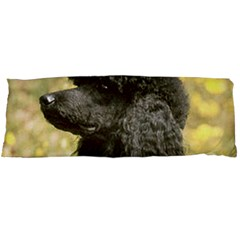 Poodle Love W Pic Black Body Pillow Case (Dakimakura)