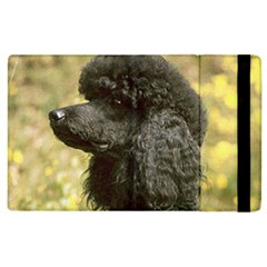 Poodle Love W Pic Black Apple iPad 3/4 Flip Case