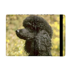 Poodle Love W Pic Black Apple iPad Mini Flip Case