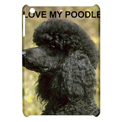 Poodle Love W Pic Black Apple iPad Mini Hardshell Case