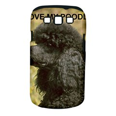 Poodle Love W Pic Black Samsung Galaxy S III Classic Hardshell Case (PC+Silicone)