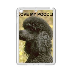Poodle Love W Pic Black iPad Mini 2 Enamel Coated Cases
