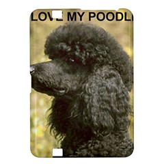 Poodle Love W Pic Black Kindle Fire HD 8.9