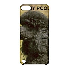 Poodle Love W Pic Black Apple iPod Touch 5 Hardshell Case with Stand