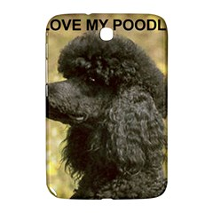 Poodle Love W Pic Black Samsung Galaxy Note 8.0 N5100 Hardshell Case