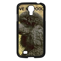 Poodle Love W Pic Black Samsung Galaxy S4 I9500/ I9505 Case (Black)