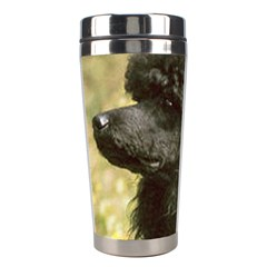 Poodle Love W Pic Black Stainless Steel Travel Tumblers
