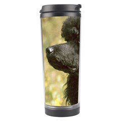 Poodle Love W Pic Black Travel Tumbler