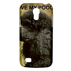 Poodle Love W Pic Black Galaxy S4 Mini
