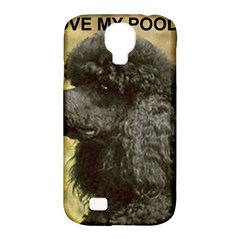 Poodle Love W Pic Black Samsung Galaxy S4 Classic Hardshell Case (PC+Silicone)