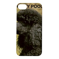 Poodle Love W Pic Black Apple iPhone 5S/ SE Hardshell Case
