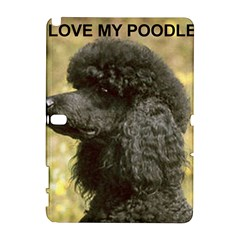 Poodle Love W Pic Black Galaxy Note 1