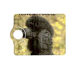 Poodle Love W Pic Black Kindle Fire HD (2013) Flip 360 Case