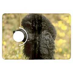 Poodle Love W Pic Black Kindle Fire HDX Flip 360 Case